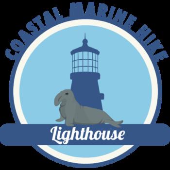 lighthouse hike icon
